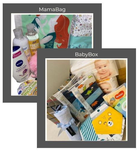 Mama Bag + Baby Box Combo